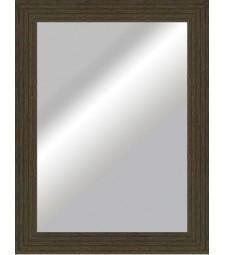 Espejo plano rustico wenguei _6325