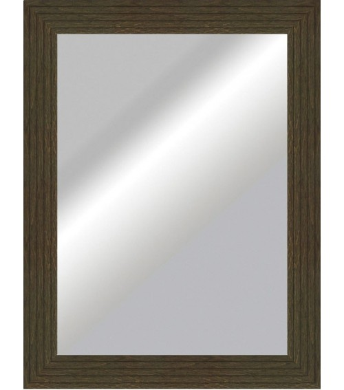 Espejo plano rustico wenguei 6325 m s cuadros for Espejos decorativos infantiles