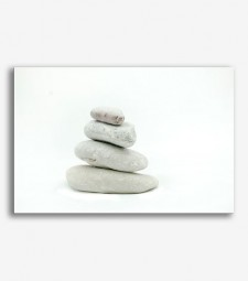 Piedras blancas zen  _G658
