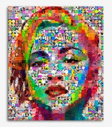 Marilyn pop collage _G769