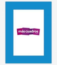 Passepartout Azul Eléctrico