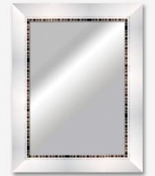 Espejo blanco filo plata_6338