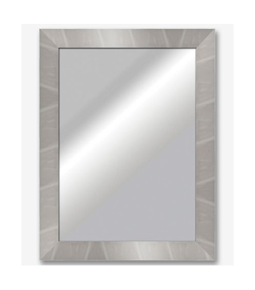 Espejo plano plata brillo espejo 7cm 6377 m s cuadros for Espejos murales decorativos