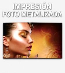 Impresión Fotografía Metalizada