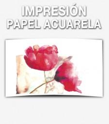 Impresión Papel Acuarela