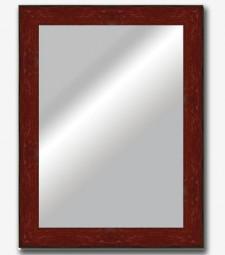 Espejo plano inclinado rojo 7cm_5940