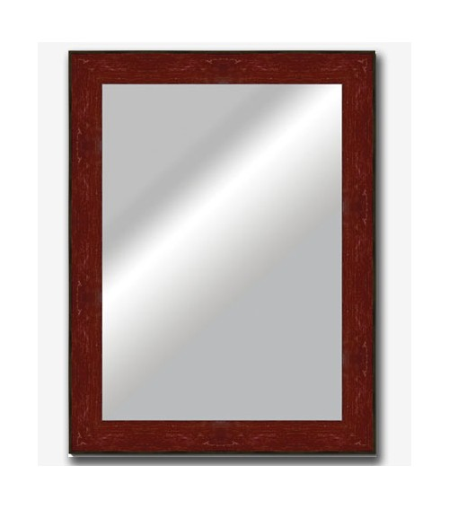 Espejo plano inclinado rojo 7cm 5940 m s cuadros for Espejos decorativos infantiles