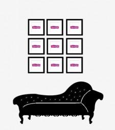 Composición de 9 marcos