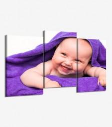 Mi foto apaisada en 3 cuadros desalineados
