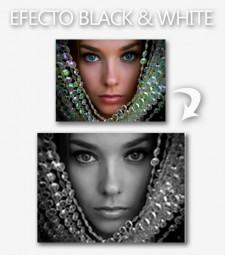 Efecto Black & White