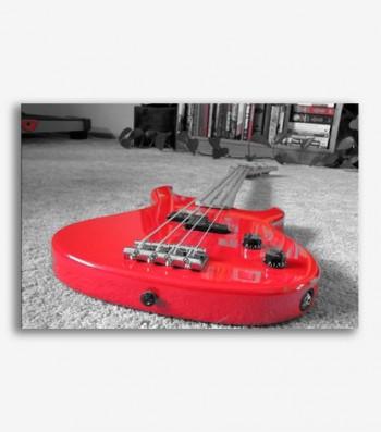 Guitarra eléctrica roja _G457