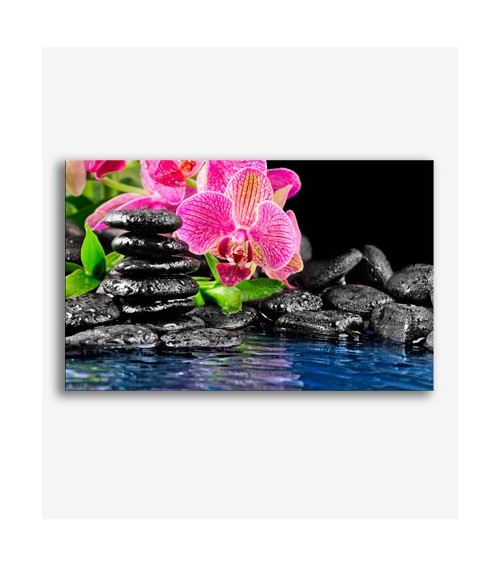 Piedras y flores zen  _G591