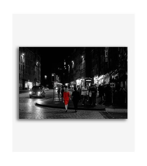 Mujer de rojo  _G612