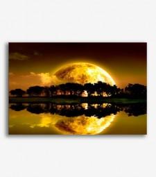 Luna sobre los arboles _G724