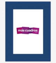 Passepartout Azul Marino