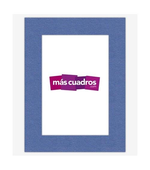 Passepartout Azul Brillo