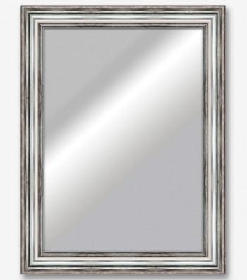 Espejo forma vintage plata oscura 10cm_6391
