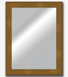 Espejo plano inclinado dorado 7cm_5566