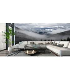 Fotomural paisaje niebla