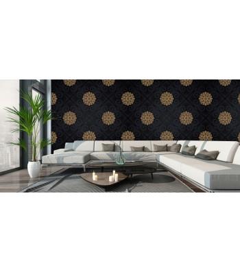 Fotomural luxury negro oro