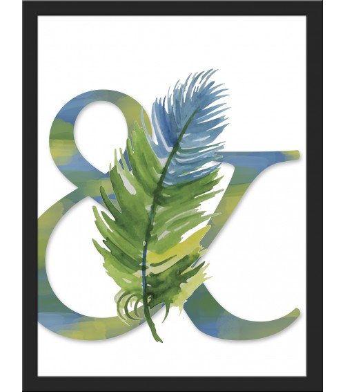 Cuadro pluma & inspiracion