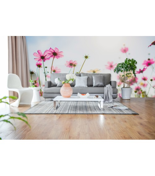 Fotomural margaritas rosas
