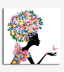 Silueta mujer flores _8.19