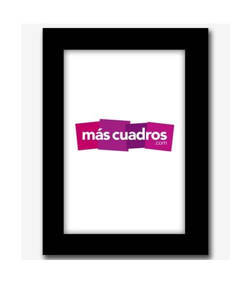 Marco negro 10x15