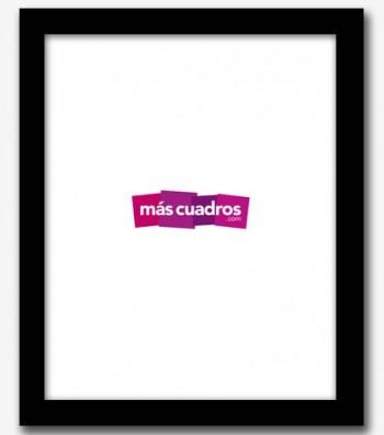 Marco negro 20x25