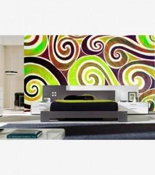 Fotomural abstracto espirales